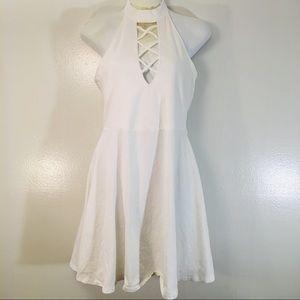 Medium express halter dress MEDIUM